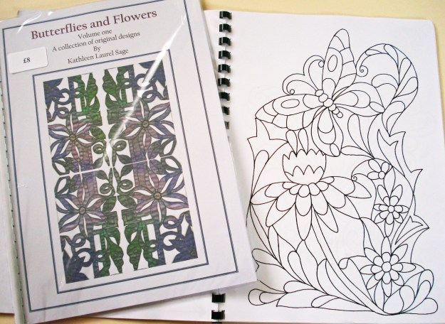 Butterflies and Flowers Design Book