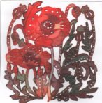 Poppy Organza Panel Kit