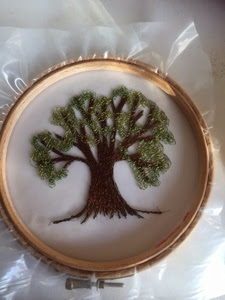Machine Embroidery Trees 1