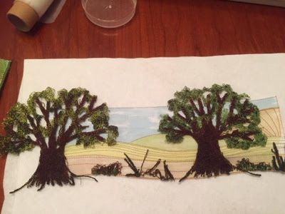 Machine Embroidery Trees 2