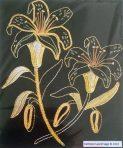 Goldwork Lily