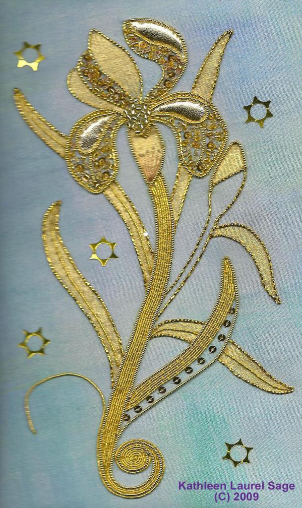 Goldwork Iris Kit
