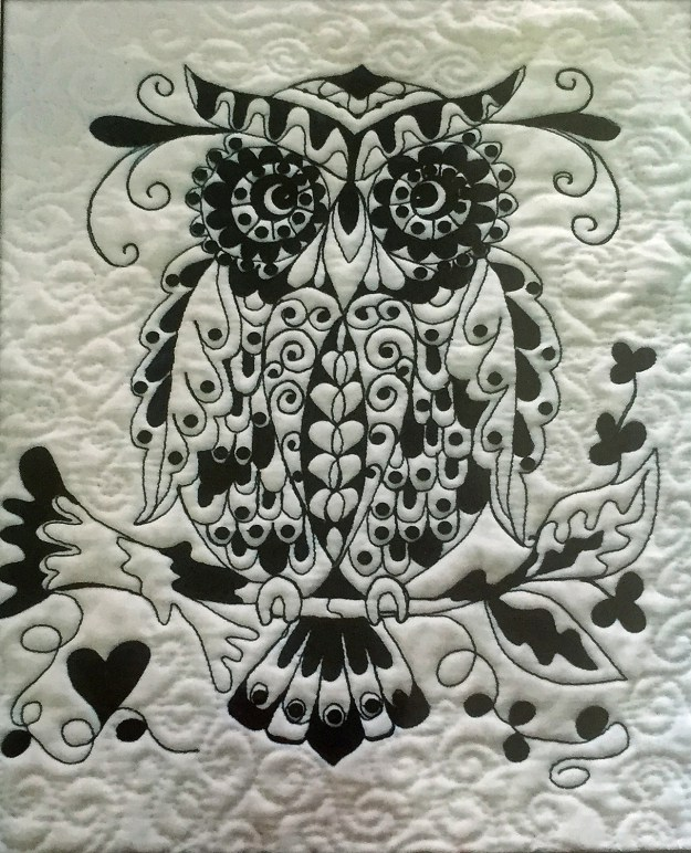 Zentangle Owl