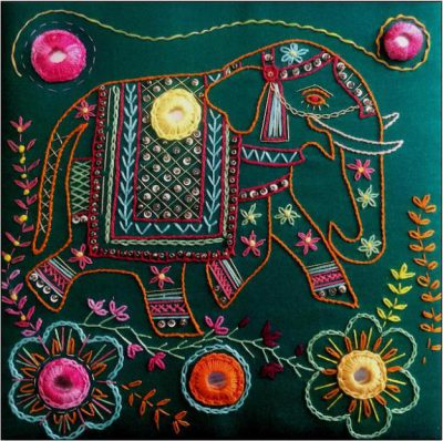 Shisha Mirror Elephant