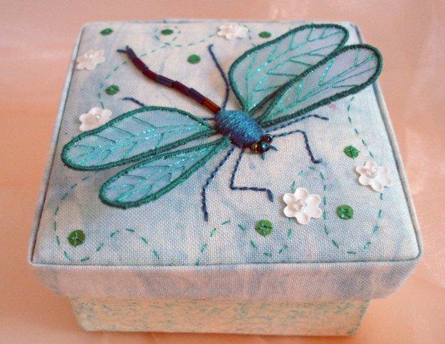 Dragonfly Stumpwork