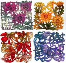 Floral Pannel;