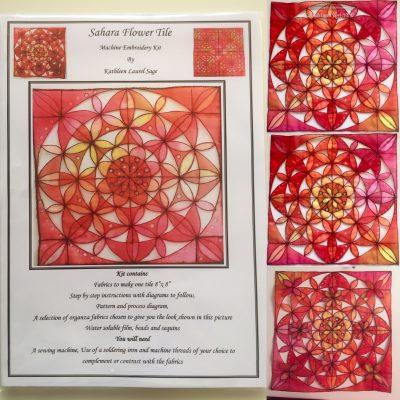 Sahara Flower Tile