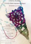 Clematis Mock Amulet Necklace