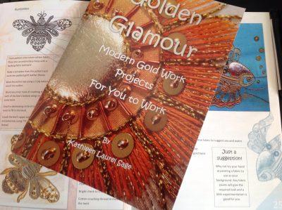 Golden Glamour Gold Work Book